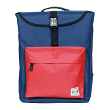 The X Woof Everyday Backpack Water Resistant Tpack-F 5.0 Blue Red