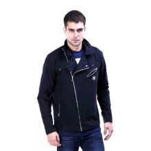 G-SHOP - MEN SWEATER JAKET HOODIES DISTRO PRIA - TDW 1449 - HITAM SIZE- M