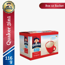 QUAKER 3 in 1 Original Box 29g x 12pcs
