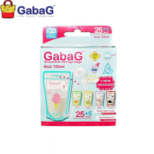 GabaG Breast Milk Storage - Kantong ASI 120 ml Isi 30 Pcs (Mix)