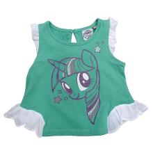Kids Icon - Kaos Anak Perempuan My Little Pony with Gliter Printing - MY1S1300180
