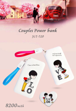 JGT Power Bank Single Love Edition 8200 mAh