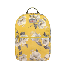 CATH KIDSTON Mid Wild Poppies Foldaway Backpack - Tas Wanita - Kuning Yellow