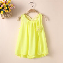 Kids Baby Girls Soild Color Sleeveless Tutu Dress Pageant Party Long Dress 70CM