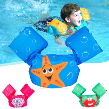 Jacket Vest Swim Children Puddle Jumper Basic Life Trainers Swimming Ring For Water Sports Wear Funny Children Kids 57*18*16cm Green