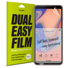 Ringke Dual Easy Full Cover Screen Protector Galaxy A7 2018 Screen Guard