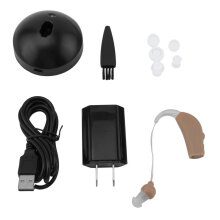 [COZIME] Rechargeable Hearing Aids Personal Sound Voice Amplifier Behind The Ear Skin Color1