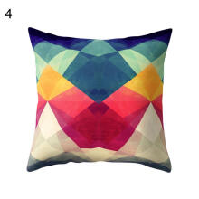 Farfi Irregular Geometric Pattern Pillow Case Throw Cushion Cover Home Office Decor
