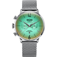 WELDER Breezy Steel Strap Steel Case Color Green Dial 45mm [WRC400]