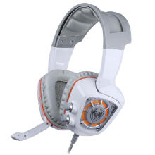 Shengmeiid Somic G910 USB Gaming Headset 7.1 Surround Sound Vibration for Game Player with LED Light