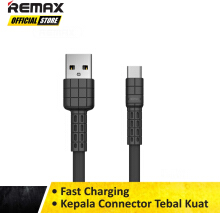 Remax Armor Series Data Cable 2.4A for Type-C RC-116a Original Garansi Kabel Data Murah / Kabel Data Awet / Kabel Data USB - Typ