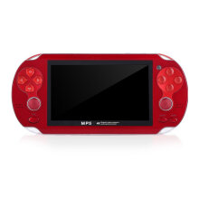 [OUTAD] Game Machine Double Rocker Console Handheld Vintage Red