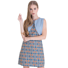 Rianty Batik Dress Wanita Kalyca - Blue