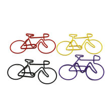 xzante Bike Paper Clips Bicycle Metal Card File Clips Pack (Random Color) 50pcs