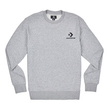 CONVERSE  Star Chevron Graphic Crew - Vintage Grey Heather