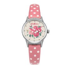 Cath Kidston Pink Floral Alloy Ckl012Ps Women Watch