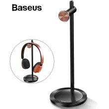 Baseus Headphone Holder, Adjustable Headphone Stand Fashion Headset Desktop Stand - Black
