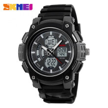 SKMEI Jam Tangan Pria Digital Analog 1192 BK/White