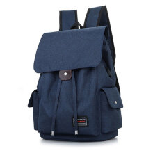 [COZIME] USB External Charging Men Male Backpack Canvas School Bag Laptop Rucksack Others1