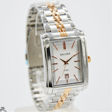 Balmer Jam Tangan Pria - D30H360BLM7971MSLRSG - Analog Date - Stainless Steel - Silver RoseGold Silver RoseGold