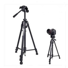 Weifeng Portable Lightweight Tripod Stand Max Height 1.58m - WF-3540 Black