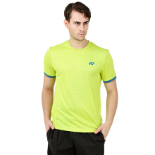 YONEX Men's Round Neck T-Shirt - Lime Punch