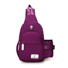 [LESHP]Women Waterproof Crossbody Shoulder Bag Traveling Backpack Large for Gift Purple