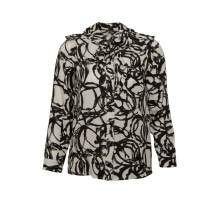 Pre-Owned Gucci Printed Silk Blouse