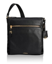 TUMI Voyageur Canton Crossbody Leather - Black