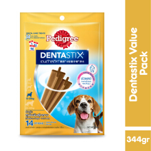 Pedigree Dentastix Value Pack Makanan Anjing Sedang 344gr 117892