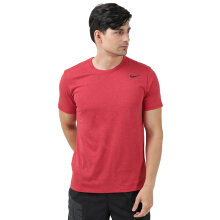 NIKE As M Nk Dry Tee Dfc 2.0 - Lt Univ Red Htr/Black