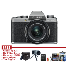 Fujifilm X-T100 - XT100 Mirrorless Digital Camera Kit XC 15-45mm