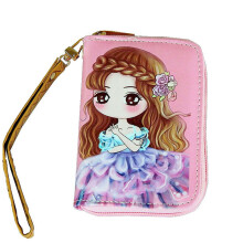 SiYing Korean women's fashion short zipper cartoon coin purse