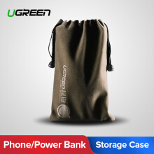 UGREEN Phone Pouch Power Bank Bag for hp Accessories Powerbank Cables Portable Waterproof Drawstring Protection Bag