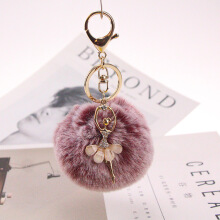 YOOHUI 8CM cute key ring pendant female key ring bracket bag key ring ladies gift bag accessories