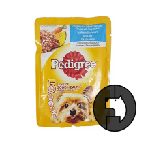 Pedigree 80 Gr Chicken And Grilled Liver Loaf Flavour With Vegetables