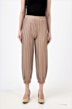 Akeira Jogger Pleats Pants Fit to XXL Nude All Size