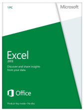 Microsoft Excel 2013 Retail License