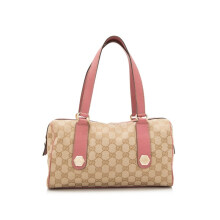 Pre-Owned Gucci GG Boston Bag
