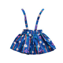 Fashionable Baby Girls Princess Dress Sleeveless Floral Printed Party Dress L