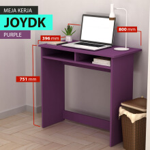 Pro Design Joy Meja Kerja - Purple (JOYDK JB)