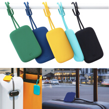 Xiaomi 90FUN Colorful Silicone Baggage Tag Portable Suitcase Luggage Bag Tag Anti-lost Label   Dark Blue