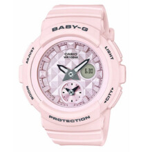 Casio Baby-G BGA-190BE-4ADR Standard Analog-Digital Pastel Pink Resin Band Pink