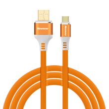Newmine Type-C tooth profile data cable USB mobile 3A is suitable for HUAWEI/Mi/Samsung/Meizu 1m