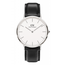Daniel Wellington Classic Sheffield 40mm Silver Case