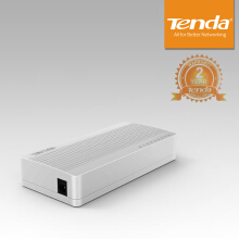 Tenda S108  8-port Ethernet Switch Plug & Play - White