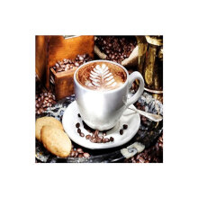 [COZIME] DIY 5D Diamond Painting Coffee Pattern Cross Stitch Craft Embroidery Painting multicolor