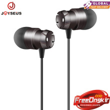 JOYSEUS J681 Earbuds with Microphone In-Ear Earphones with Mic Music Stereo Ear buds. Grey
