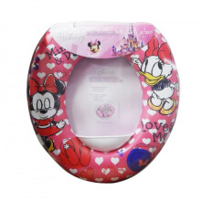 Disney Soft Baby Potty Seat - Minnie Mouse & Daisy Loves Me Pink