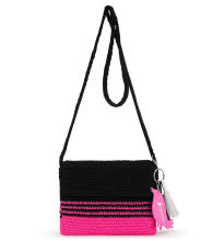 Sakroots Crochet Flap Crossbody Bag Multicolor